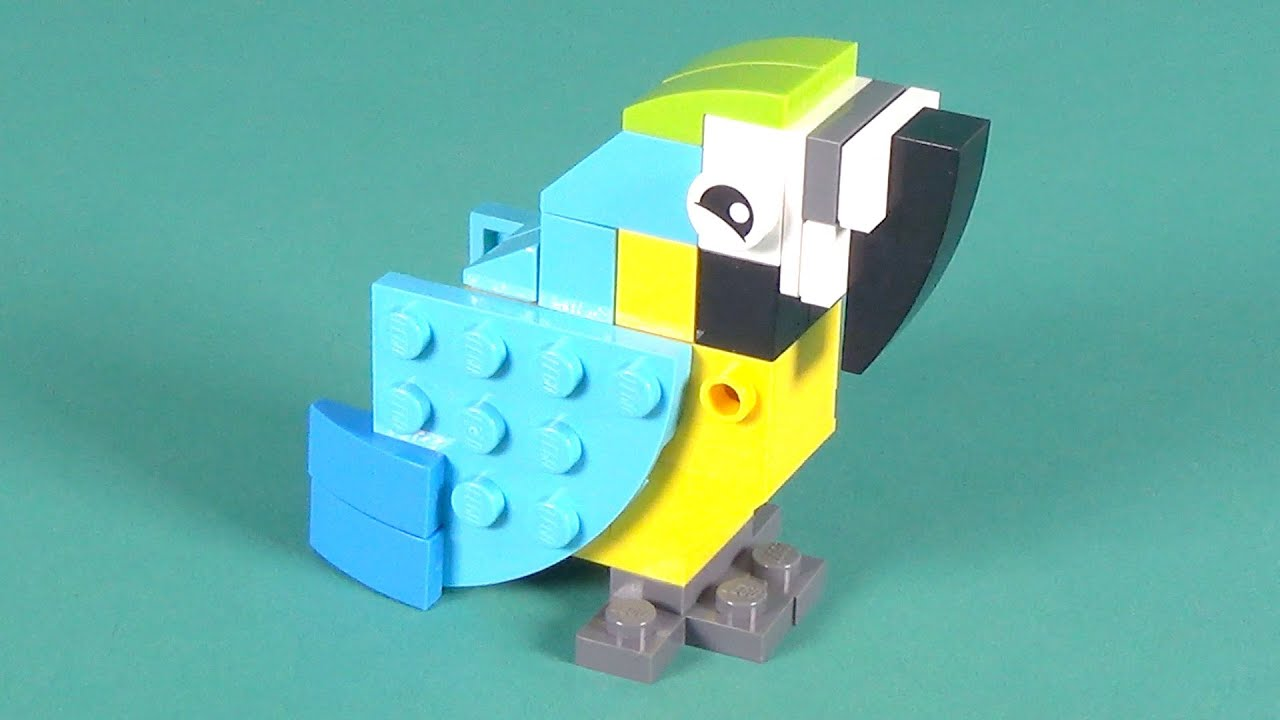 Lego Parrot Building Instructions Lego Classic 10702 How To