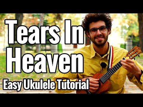 Tears In Heaven - Ukulele Tutorial Easy (Part 1) Eric Clapton Uke Play Along