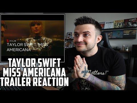 MISS AMERICANA TRAILER REACTION - TAYLOR SWIFT
