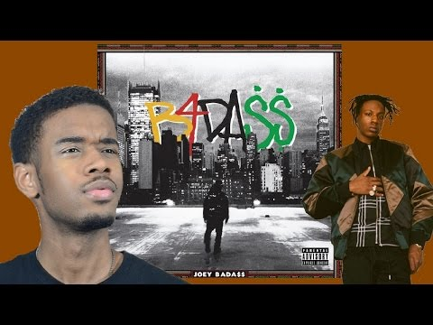 Joey Bada$$ - B4DA$$ First REACTION/REVIEW