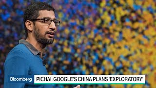 Google CEO Said to Tell Staff China Plans Are Exploratory