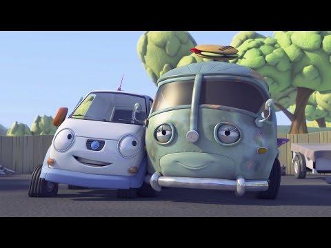 Олли Веселый грузовичок - Мультфильм про машинки - Серия 1 - Кафе у дороги (Full HD)