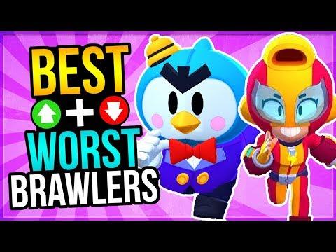 NEW Tier List For Brawl Stars! Best Modes For Every Brawler + Ranking!
