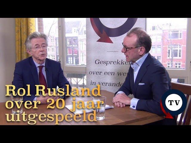 Oud-minister Voorhoeve: Over 20 jaar is Rusland uitgespeeld