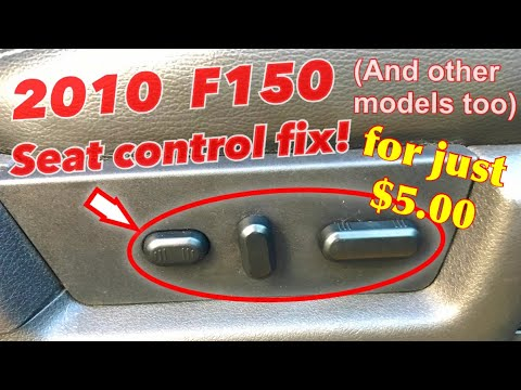 5 00 F150 Broken Seat Control Switch Fix