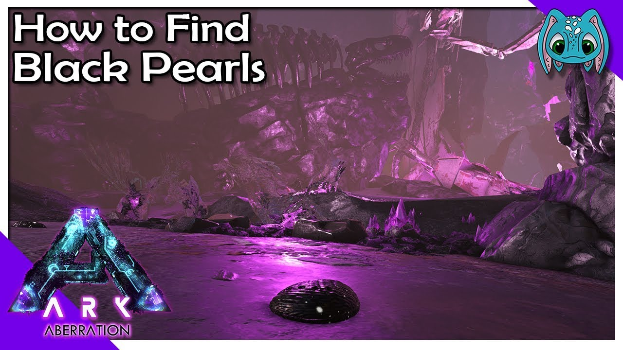 How To Find Black Pearls S7ep21 Ark Aberration Youtube Bring a good crossbow to one shot any water scorpions, they drop tons of black pearls. how to find black pearls s7ep21 ark aberration