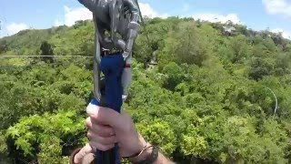Zipline at Scape Park in Punta Cana
