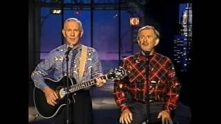 Smothers Brothers on Late Night, August 28, 1992