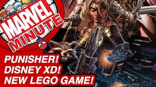 Punisher! Disney XD! New LEGO Game! - Marvel Minute 2015