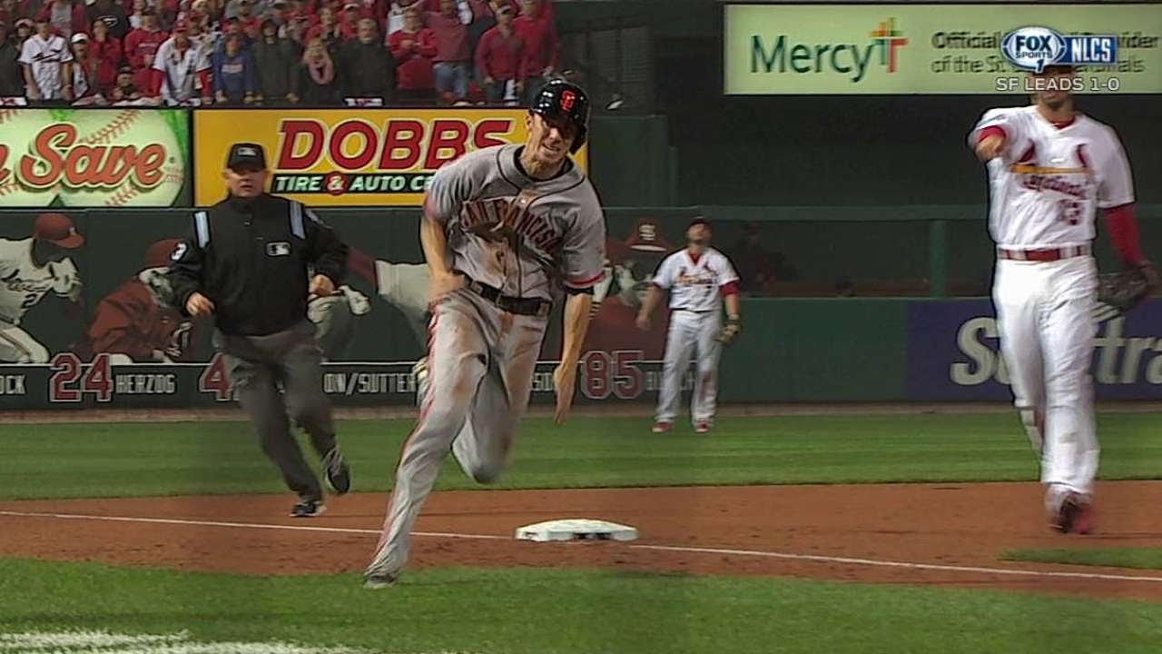 NLCS Gm2: Duffy scores game-tying run on a wild pitch ...