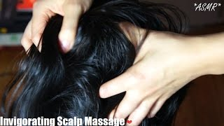 ASMR INVIGORATING Scalp Scratching Massage (MESSY, DIRTY, UP CLOSE, FAST PACE + FEELS SOO GOOD) !!