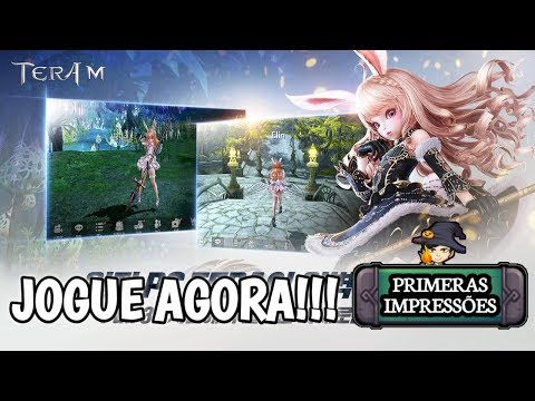 JOGUE AGORA! TERA M / TOP MMORPG NETMARBLE / GAMEPLAY ANDROID BR