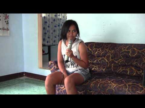 Beverly Bardilas Bandong  karaoke time warmup ( july 2013 ) liburon