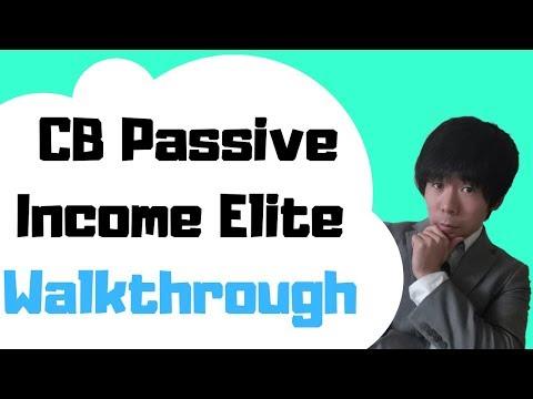 CB  Passive Income Elite Walkthrough