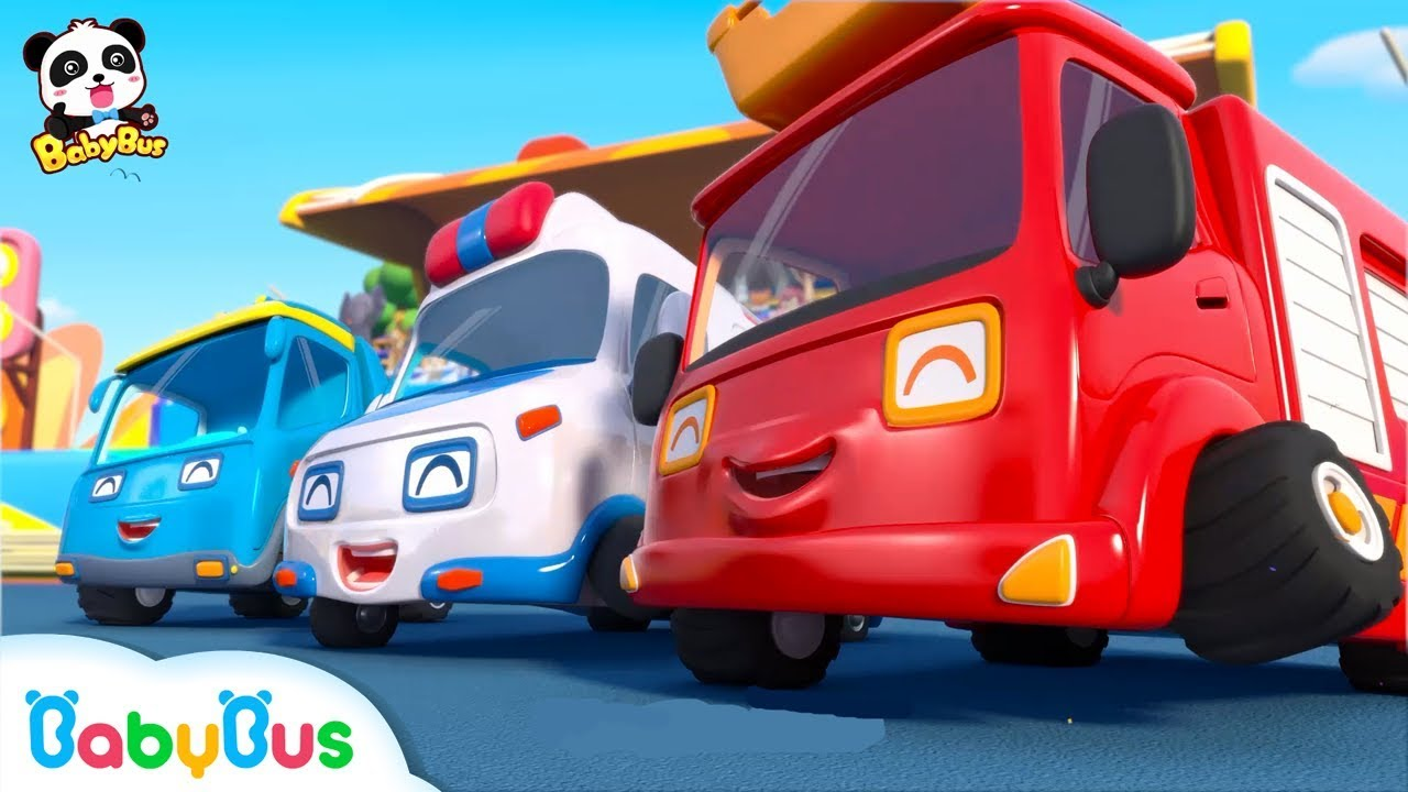 Super Car Racing Team | Baby Panda's Dream | Car Story for Kid | Fire Truck, Monster Truck | Ba