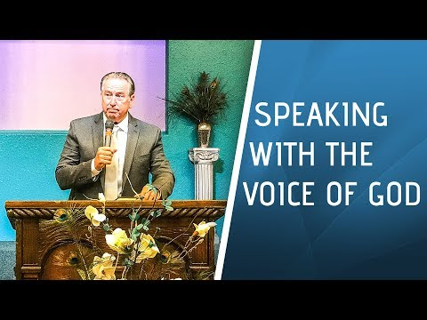 Speaking With The Voice Of God – Aug. 27th, 2017 – NLAC