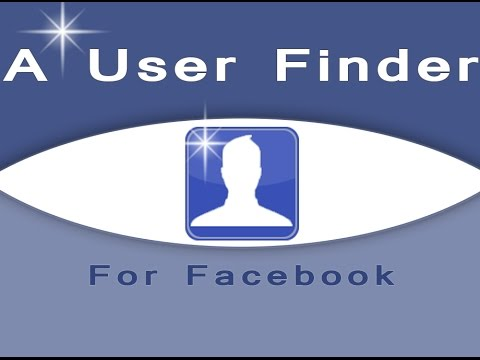 A User Finder For Facebook