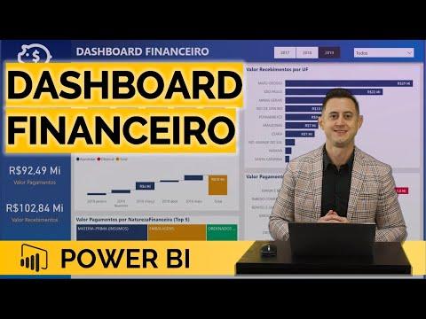[Live 1 Workshop #1 Power BI] Dashboard FINANCEIRO com Análises de Títulos Pagos e Recebidos