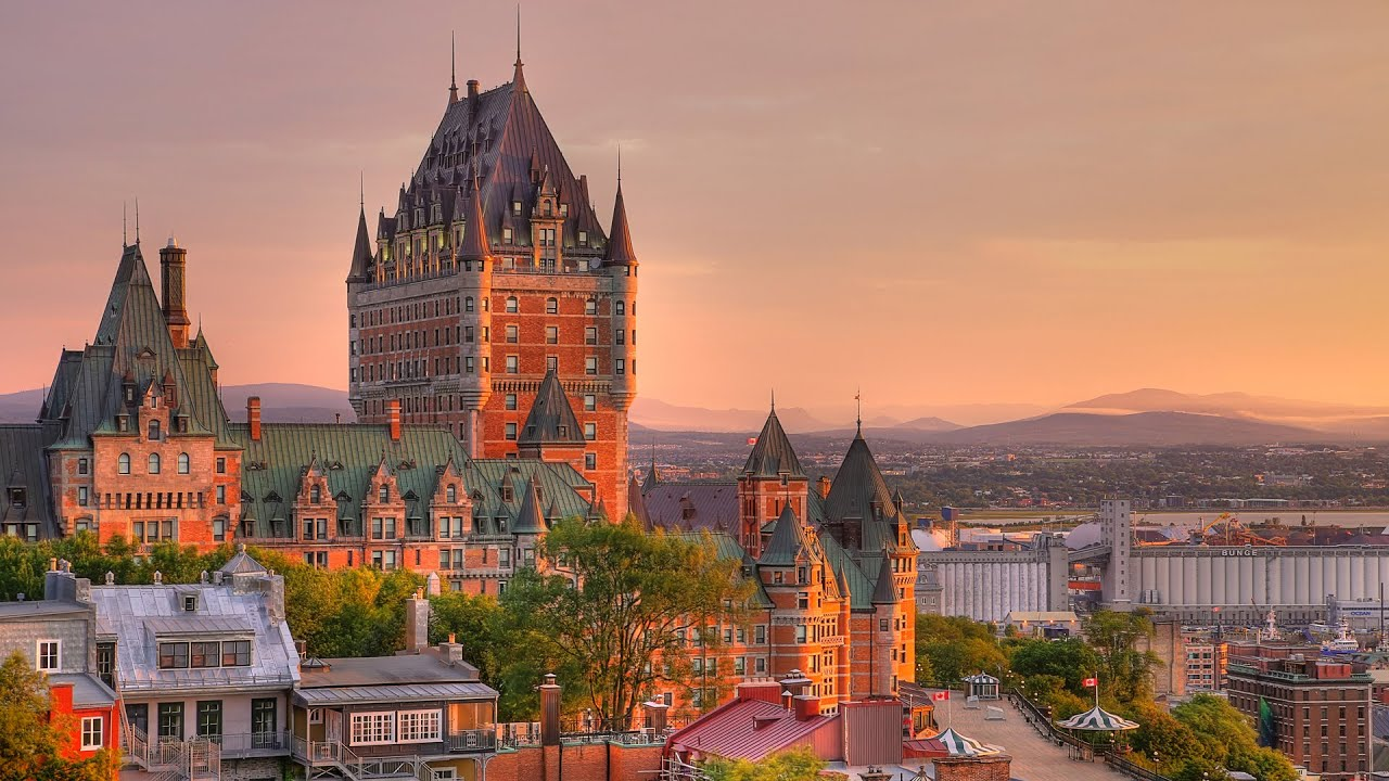 Montreal Quebec City And Montmorency Falls Day Trip