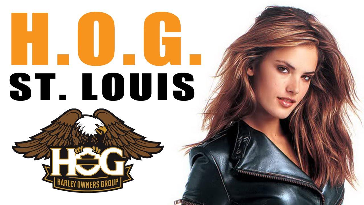 HOG Ride St Louis Harley Davidson Gateway Harley - YouTube