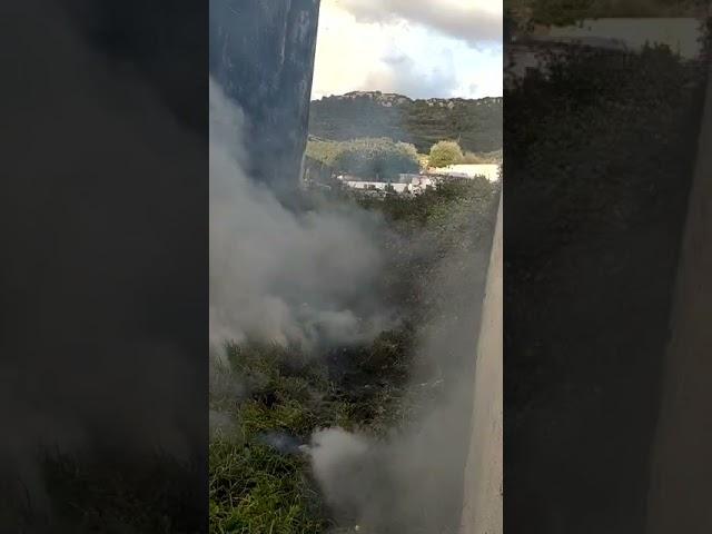 Incendio en Es Mercadal 2