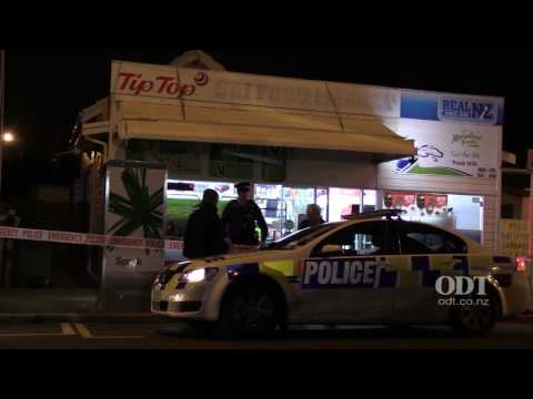Armed robbery in South Dunedin