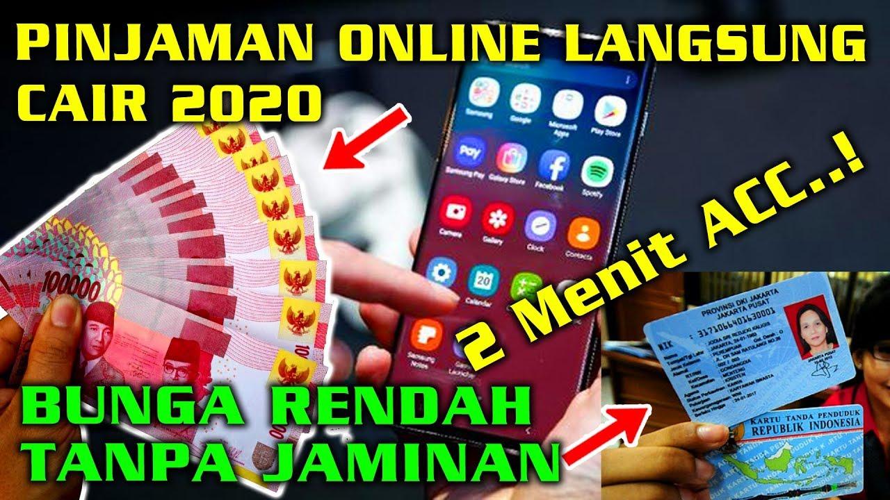 Pinjaman Online Langsung Cair 2020 Bunga Rendah Tanpa ...