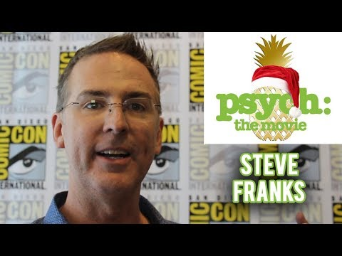 Psych: The Movie - Show Creator Steve Franks Interview