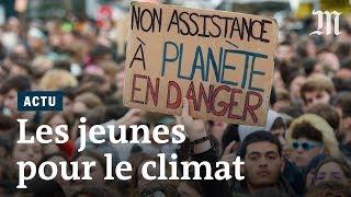 Marche pour le climat : des miliers de jeunes défilent dans des dizaines de pays