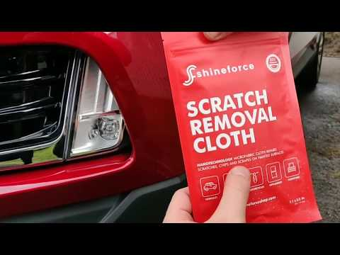 Car Scratch Remover – Scratch Repair – Scratch Removal Cloth by ShineForce