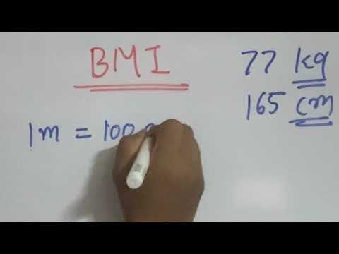 BMI: How to Calculate BMI
