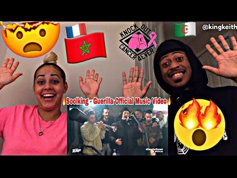 SOOLKING - GUERILLA #PlaneteRap REACTION 🇲🇦🔥🇩🇿🇫🇷 'FRENCH MUSIC' OFFICIAL VIDEO WATCH!