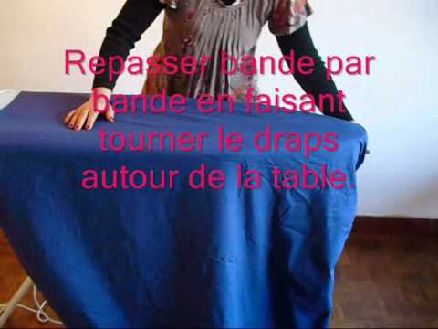 repassage draps housse youtube