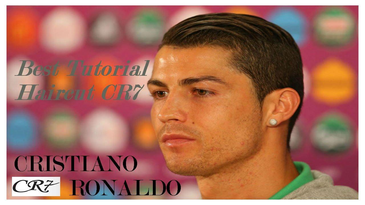 Cristiano Ronaldo Hairstyles Coolest Tutorial Haircut Cr7 Youtube