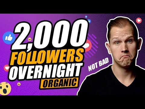 How To Gain 2000 Instagram FOLLOWERS FAST In 2020 (Organic Growth Strategy)