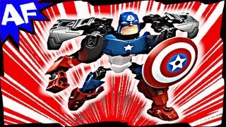 Captain America Ultra Build 4597 Lego Marvel Avengers Super Heroes Stop Motion Review