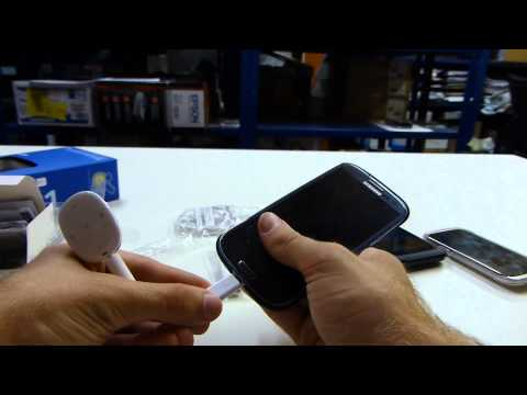 Samsung Pebble W1 MP3 Player Unboxing and Hands On