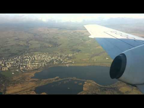 Flying into Glasgow