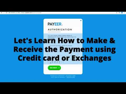 How To Load The Fund & Withdraw From Payeer Wallet Using Card And Exchanges