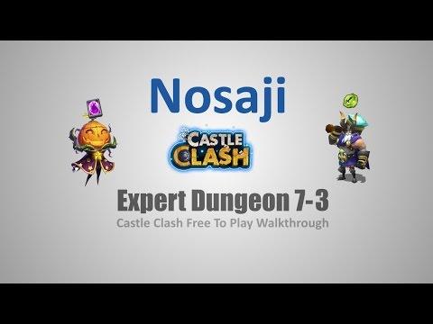 Castle Clash: Expert Dungeon 7-3 F2P Walkthrough