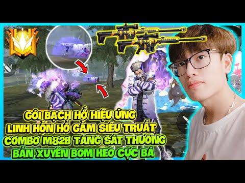 (FREE FIRE) GÓI BẠCH HỔ HIỆU ỨNG LINH HỒN HỔ GẦM, ANH HÙNG XUYÊN KEO M82B ĐỤC BAY KHIÊN CHRONO