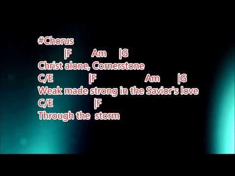 Cornerstone - Hillsong, Karaoke