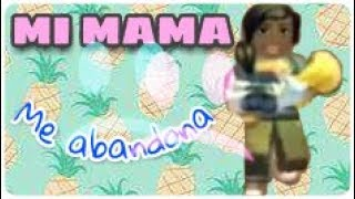 Barcelona Tito | I'm a baby and my mom abandoned me! :´( | Roblox adopt me