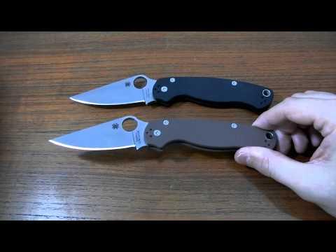 Мысли о ноже: Spyderco Paramilitary 2 S35VN
