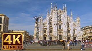 Fabulous Italy: Milan in 4K - Episode 2 - 1 HR - City Csapes/City Life/Urban Life Relax Video