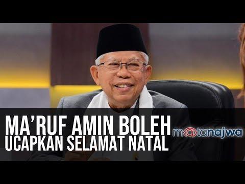 Politik Sarung Ma'ruf Amin: Ma'ruf Amin Boleh Ucapkan Selamat Natal (Part 3) | Mata Najwa