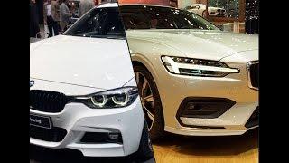 2018 BMW 3 Series Touring vs. 2018 Volvo V60