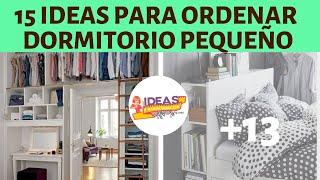 15 Inteligentes Ideas De Almacenamiento Para Un Dormitorio Pequeño ¡Pon En Orden Todas Tus Cosas!