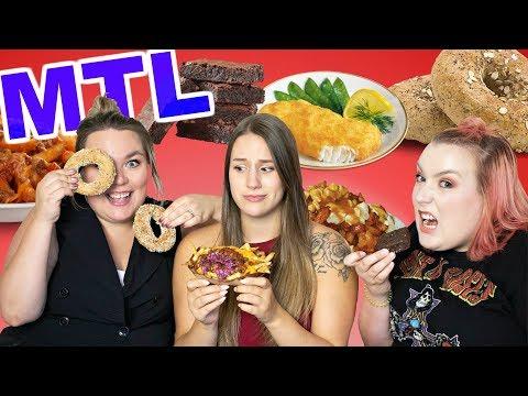Bouffe Louche à Montréal : Le pire du fast-food québécois 🍟🍫🍊 |  2FILLESORDINAIRES