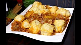 Старинное простое блюдо. Штрудели с картошкой и капустой.  Домашний ресторан®
